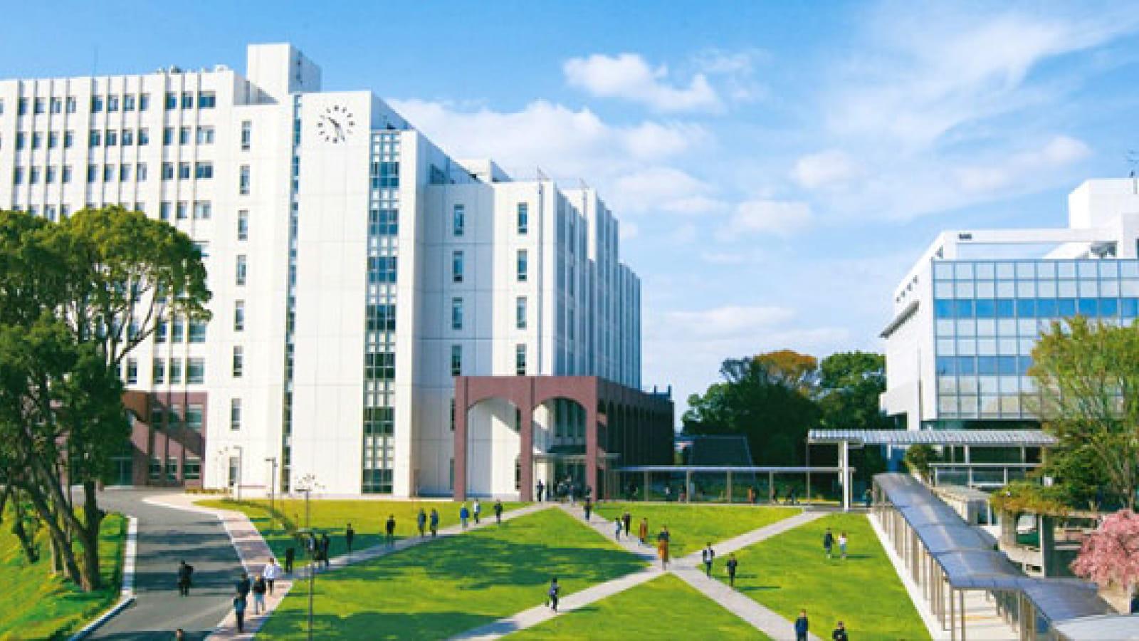 久留米大学の外観